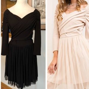 Entro Off the Shoulder Sweetheart Dress